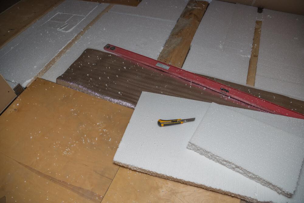 Izolácia podlahy polystyrénom Bratislava